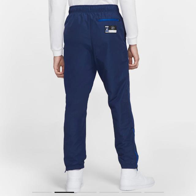 FRAGMENT(フラグメント)の希少XLサイズ fragment Jordan ウーブンパンツ ネイビー メンズのパンツ(その他)の商品写真