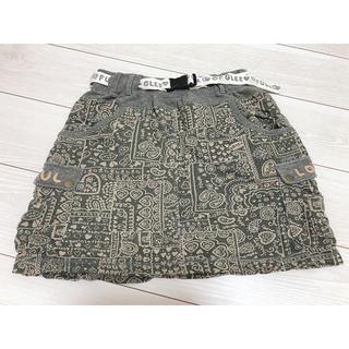 ラフ(rough)のrough スカート 膝上(ミニスカート)