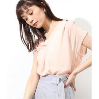 ヴィス(ViS)のVIS ピンク トップス(シャツ/ブラウス(半袖/袖なし))