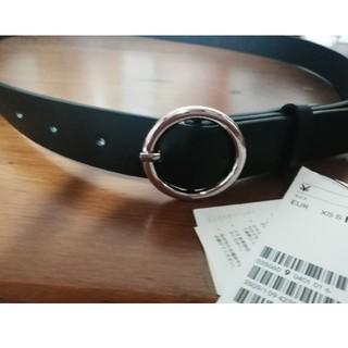 エイチアンドエム(H&M)の新品☆シルバーバックルベルト H&M(ベルト)