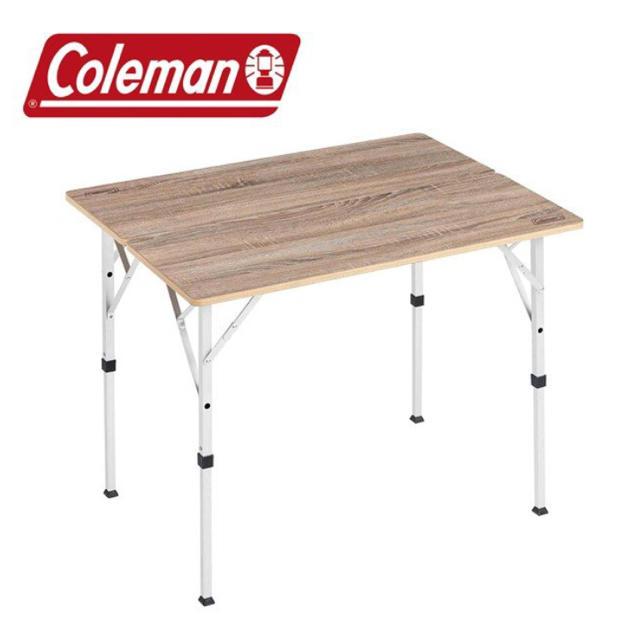 Coleman(コールマン)の新品未使用‼︎★コールマン★ フォールディングリビングテーブル 90 インテリア/住まい/日用品の机/テーブル(アウトドアテーブル)の商品写真