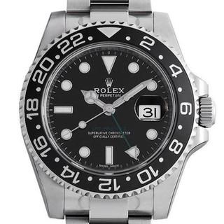 ROLEX - GMT機能があります GMTマスターII  メンズ 腕時計
