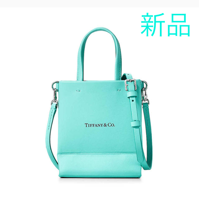 Tiffany & Co.(ティファニー)の完売 ティファニー TIFFANY 日本未発売 ショッピング トート バッグ  レディースのバッグ(ショルダーバッグ)の商品写真