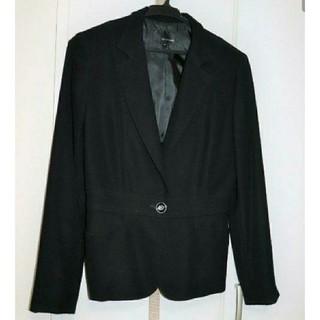 22 OCTOBRE - 【中古新品】22OCTOBRE  ブラック スーツ テーラードジャケット