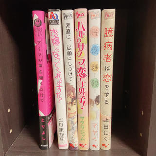 カドカワショテン(角川書店)のBL漫画6冊セット(ボーイズラブ(BL))