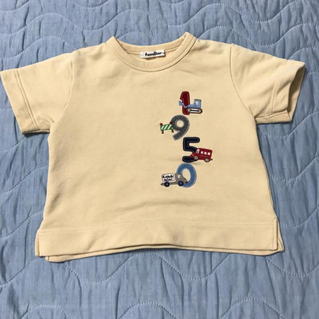 familiar(ファミリア)のfamiliar 半袖 トップス サイズ100 ファミリア キッズ/ベビー/マタニティのキッズ服男の子用(90cm~)(Tシャツ/カットソー)の商品写真