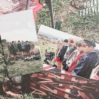 防弾少年団(BTS) - 🌈花様年華 YOUNG FOREVER 購入特典トレカ オール2枚