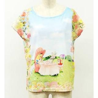 franche lippee - フランシュリッペ★ディズニーコラボTシャツ(アリス)