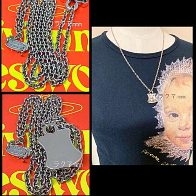 Vivienne Westwood(ヴィヴィアンウエストウッド)のヴィヴィアンウエストウッド ネックレス 南京錠モチーフ/パドロック メンズのアクセサリー(ネックレス)の商品写真