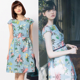 TOCCA - TOCCA 定価42900円 ワンピース ドレス トッカ 花柄 2 スカート