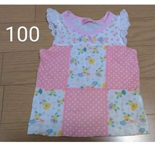 サンリオ(サンリオ)のウサハナ トップス 100サイズ(Tシャツ/カットソー)