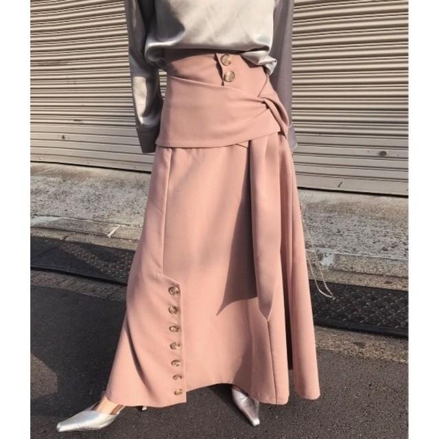 Ameri VINTAGE(アメリヴィンテージ)のAmeri vintage イタズラハイウエストスカート レディースのスカート(ロングスカート)の商品写真