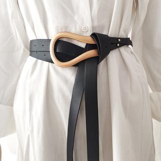 アメリヴィンテージ(Ameri VINTAGE)の【オーダー】Buckle belt 全6色 バックル大(ベルト)