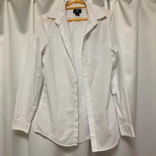 H&M - h&m ワイシャツ ホワイト 白