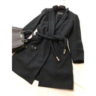 ルイヴィトン(LOUIS VUITTON)の美品 LOUIS VUITTON コート ヴィトン ロゴ(ロングコート)