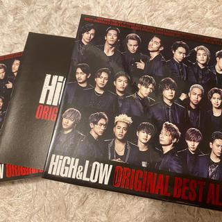 エグザイル トライブ(EXILE TRIBE)のHIGH&LOW ORIGINAL BEST ALBUM(ミュージック)