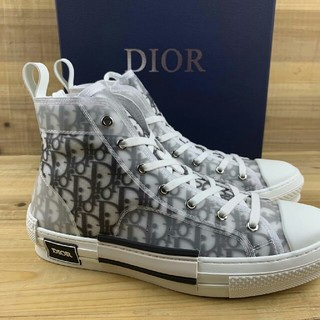 Dior - Dior B23 Oblique High Top Sneakers26.5cm