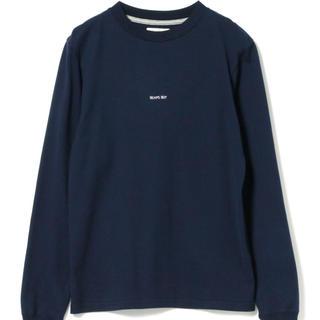 BEAMS BOY - BEAMS BOY / ミニロゴ ロングスリーブ Tシャツ