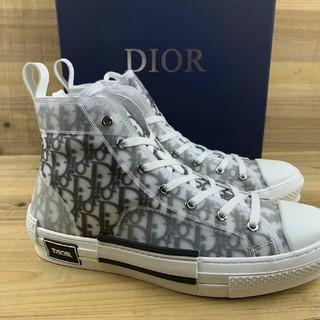 Dior - Dior B23 Oblique High Top Sneakers27.5cm