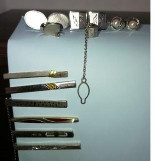 ニナリッチ(NINA RICCI)のネクタイピン、カフスボタンセット(計9品)(ネクタイピン)