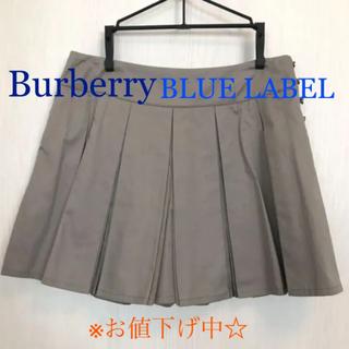 バーバリーブルーレーベル(BURBERRY BLUE LABEL)のバーバリー ブルーレーベル キュロットスカート(キュロット)