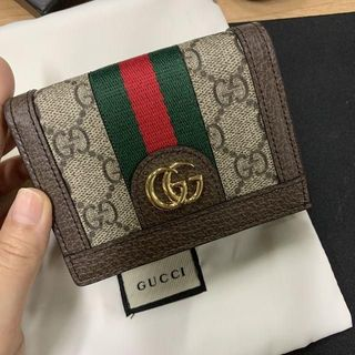 Gucci - GUCCI オフィディア◕ 折り財布 カードケース