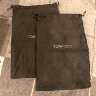 トムフォード(TOM FORD)の*美品トムフォード スニーカー入れ×2*(ショップ袋)