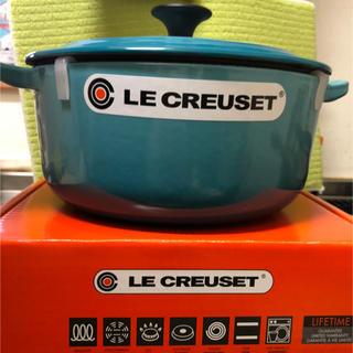 ルクルーゼ(LE CREUSET)の【貴重!廃盤カラー】ルクルーゼ ココットロンド 20cm(鍋/フライパン)