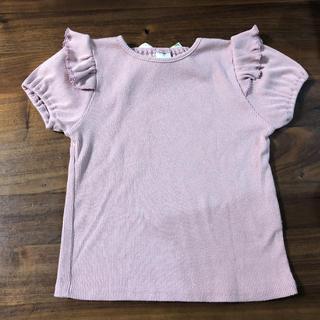 フタフタ(futafuta)のテータテート  Tシャツ トップス 110センチ(Tシャツ/カットソー)
