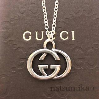 Gucci - GUCCI 正規品 チャーム ネックレス (シルバー)