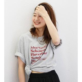 アングリッド(Ungrid)のUngrid 今期 Web完売 CityロゴTee 美品(Tシャツ(半袖/袖なし))