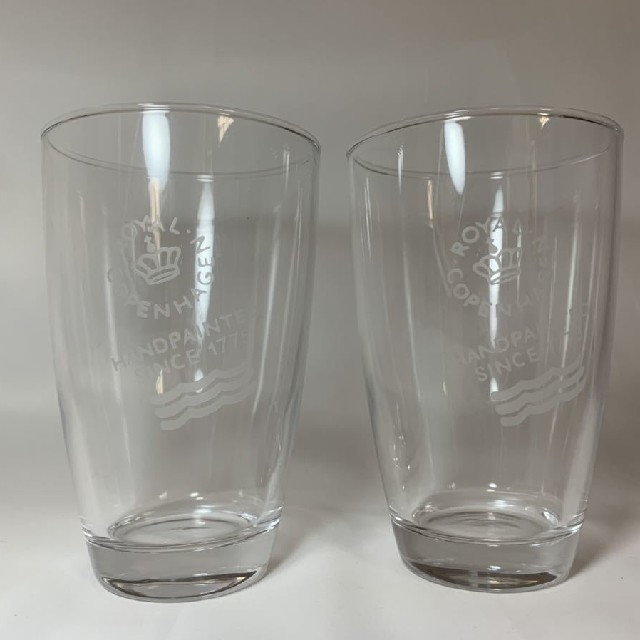 ROYAL COPENHAGEN(ロイヤルコペンハーゲン)のロイヤルコペンハーゲン ペアグラス インテリア/住まい/日用品のキッチン/食器(グラス/カップ)の商品写真