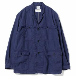 ビームス(BEAMS)のオアスロウ Orslow x Fennica フレンチブルー ワークジャケット(カバーオール)