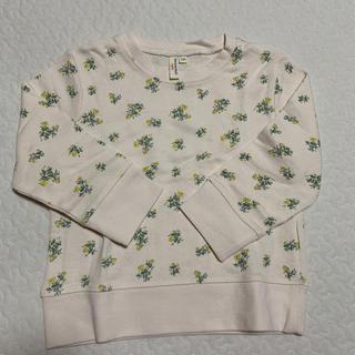 サマンサモスモス(SM2)のサマンサモスモス花柄トレーナー(Tシャツ/カットソー)