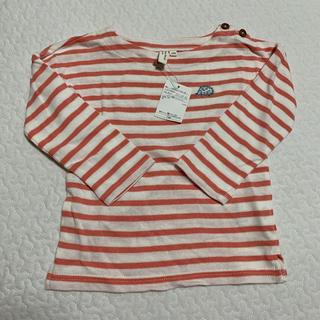 サマンサモスモス(SM2)のサマンサモスモスハリネズミボーダーTシャツ(Tシャツ/カットソー)
