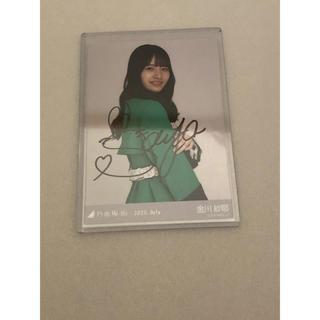 乃木坂46 - 金川紗耶 バスラ衣装3 直筆サイン