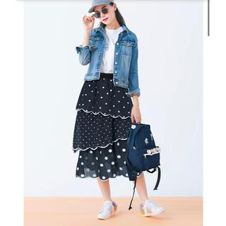 Chesty - 雑誌掲載品♡ タグ付新品♡チェスティ スカラップドットスカート