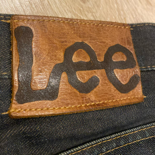 Lee - Lee❤️メンズ❤️パンツ❤️デニム❤️革❤️タグ❤️ハンドメイド❤️パーツ