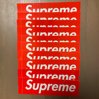 Supreme - Supreme ステッカー box logo シュプリーム sticker10枚