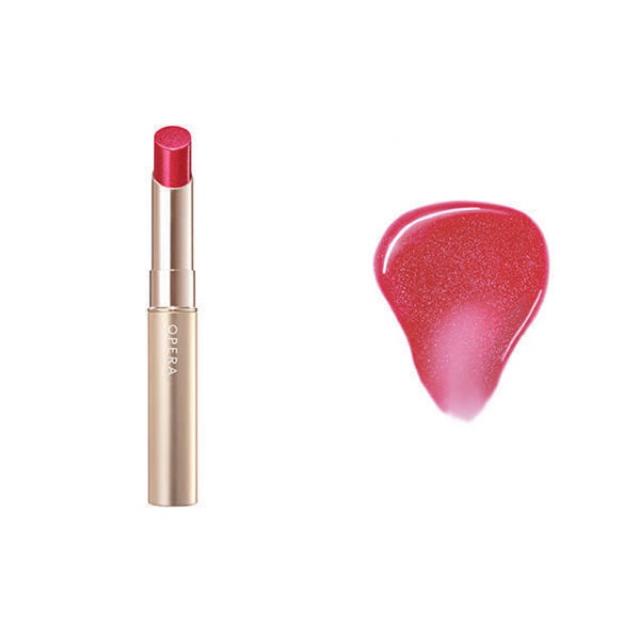 OPERA(オペラ)の新品 限定色 オペラ シアーリップカラーRN 103 スパークルレッド コスメ/美容のベースメイク/化粧品(口紅)の商品写真