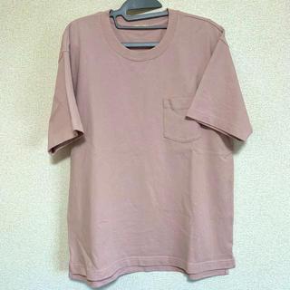 GU - オーバーサイズポケット付きビッグTシャツ