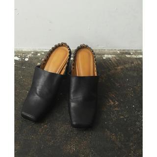 トゥデイフル(TODAYFUL)のTodayful Square Gather Shoes(ハイヒール/パンプス)
