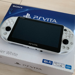 PlayStation Vita - PlayStationVITA 本体  PCH-2000 ZA22【極美品】