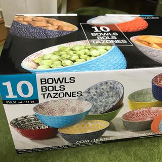 コストコ(コストコ)のコストコ ボウル10個 BOWLS BOLS TAZONES(食器)