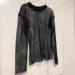 ゴゴシング(GOGOSING)の韓国シースルーシャツ(シャツ/ブラウス(長袖/七分))