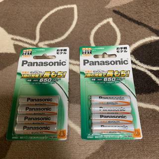 Panasonic - パナソニック 充電式エボルタ 単4形充電池 4本パックBK-4LLB/4B×2P