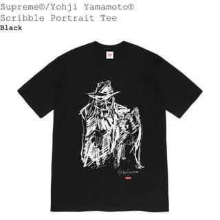 Supreme - Yohji Yamamoto®<br>Scribble Portrait Tee