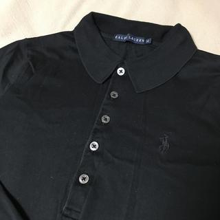 ラルフローレン(Ralph Lauren)のラルフローレン  高級  中古  M  ブラック(ポロシャツ)