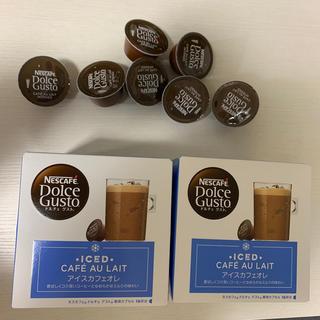 Nestle - ドルチェグスト アイスカフェオレ 16杯分2箱と余り7杯分
