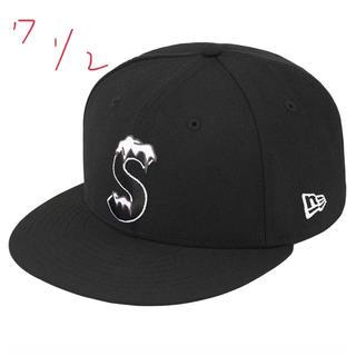 Supreme - Supreme S Logo New Era Black ノベルティ付き box